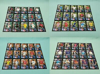 Topps Match Attax Champions League 2019/2020 alle 60 Exklusive Cards 19/20