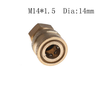 "Pressure Washer 1/4"" Female NPT Brass Quick Connect Coupler For Clean Machin qx"