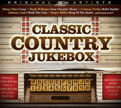 Various Artists - Classic Country Jukebox CD NEW