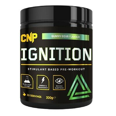 CNP Ignition Pre Workout Stimulant 30 Serv Strong Use With Pro Peptide 300g