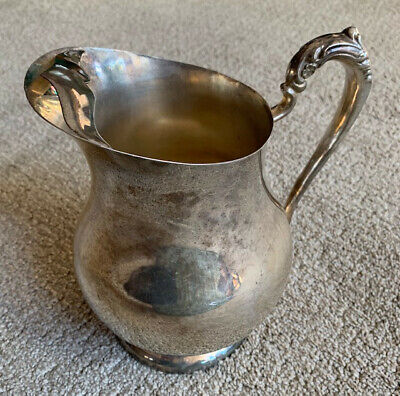 Vintage F.B. ROGERS Silver Co. 1883 Silver Plated Pitcher~NICE!