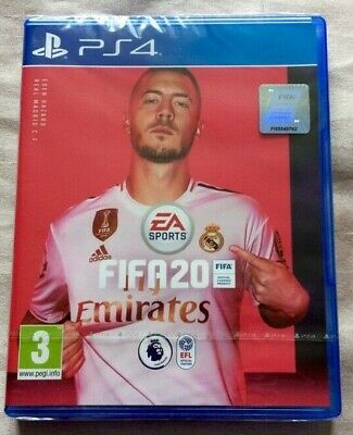 Fifa 20 Game For Ps4 Brand New Sealed Fifa20 Uk Stock For Playstation 4