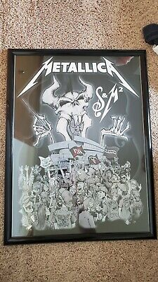 Metallica S&M² Arena Crowd MetClub 5th Member Poster by Squindo Print Fillmore