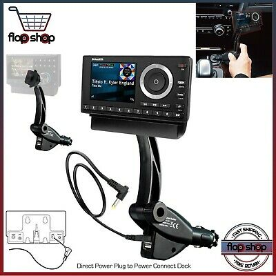Car Satellite Radio Receiver Sirius XM Mounting Kit Vehicle Portable Dock Music