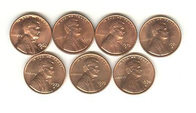 1980 1981 1982 1983 1984 1985 1986 1987 1988 1989 S Lincoln Mint Proof Set