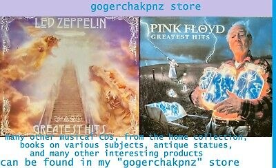 Led Zeppelin Pink Floyd Greatest Hits songs Collection Music 2 SETS of 2 CD