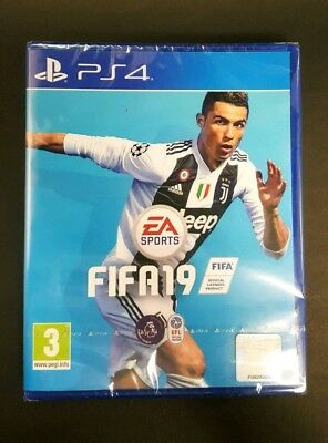 Fifa 19 Game For Ps4 Brand New Sealed Uk Stock For Playstation 4