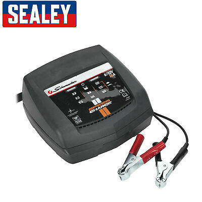 Sealey Schumacher SCI10 Intelligent Speed Charge Car Battery Charger 10A  6/12V