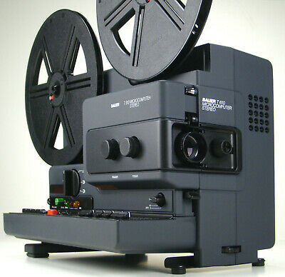 Super 8mm Film Projector Bauer T610 Microcomputer Stereo Studioklasse