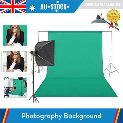 Photography ChromaKey Backdrop Studio Cotton Stand Background Screen Green