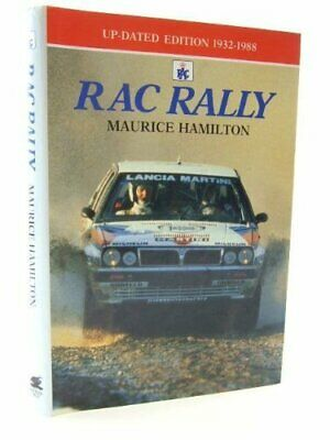 RAC RALLY by HAMILTON, Maurice Book The Cheap Fast Free Post