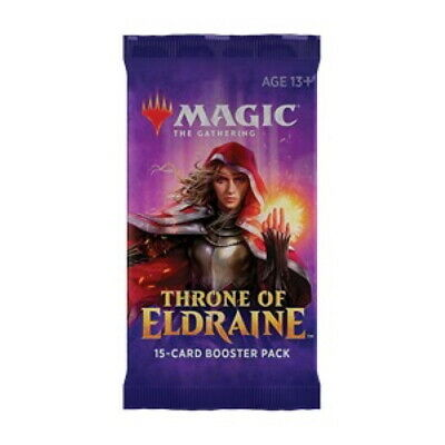 *Magic MtG - Throne of Eldraine - 10x Booster - English / OVP / Sealed