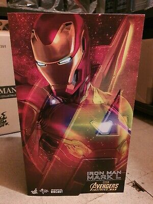 Hot Toys Iron Man Mark L 1/6Th Scale Collectible Figure Mms 473 D23 Box Only
