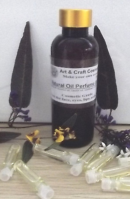 Perfume Liquid Oily Base Natural Unscented Cosmetic Grade Easy D.I.Y. Homemade