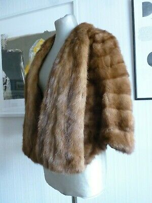 Ladies 1950's Vintage Mink Stole in excellent condition.