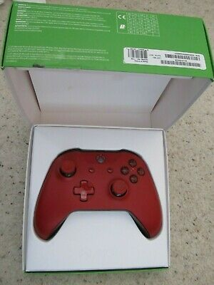 Official Microsoft Xbox One S 1708 Wireless Controller Red Boxed