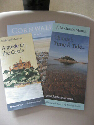 st michael's mount, cornwall, guide to castle, time&tide & map of cornwall