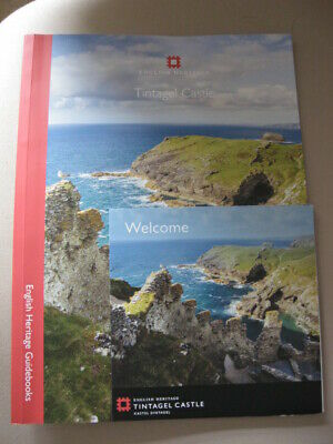 Tintagel Castle- cornwall. Guide book & welcome pamphlet