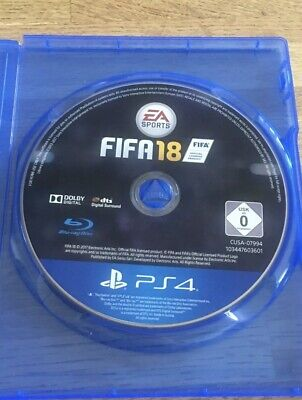 FIFA 18 PS4 Disc Only - FREE UK POST