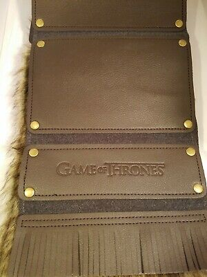 Game of Thrones House Stark Scarf Cosplay (Culturefly/HBO) High Quality Costume