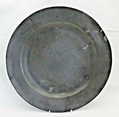 English Antique Pewter Plate 24 cm wide
