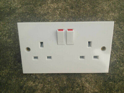 3x Double sockets - NEW