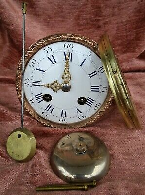 rare french clock movement for a mantel clock Japy Freres