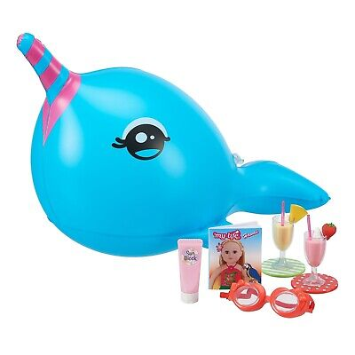 My Life as.. 10 Piece Narwhal Float Play Set