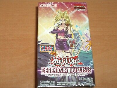 YU-GI-OH! LEGENDARY DUELISTS: SISTER OF THE ROSE : 1 Paket/18 Booster! NEU & OVP