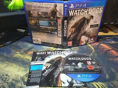 Watch Dogs Game (Sony PlayStation 4 / PS4, 2014)