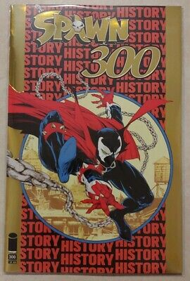 SPAWN #300 GOLD FOIL LTD 500 IMAGE COMICS TODD MCFARLANE NYCC EXCLUSIVE In Hand!