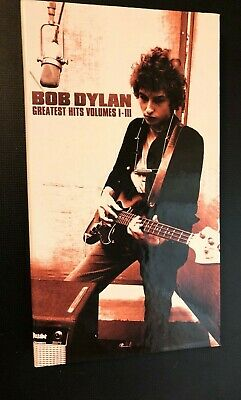 Greatest Hits: Vols 1-3 by Bob Dylan 4 CDs & Booklook insert Best RARE OOP I-III