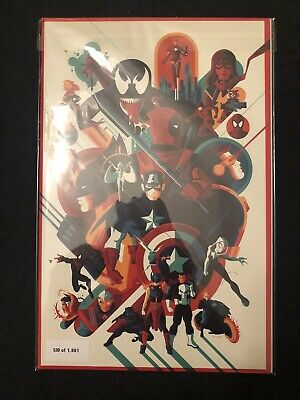 Marvel Comics 1001 NYCC 2019 Mondo Variant (219/1001) SOLD OUT!