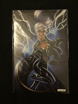 House Of X 5 NYCC J Scott Campbell Glow In The Dark Storm Variant (641/2500)