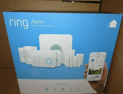 Ring Alarm Wireless Home Security Starter Home Security Kit White Brand New