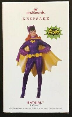 Hallmark 2019 Batgirl Batman TV Series Limited Edition Keepsake Ornament - MIP
