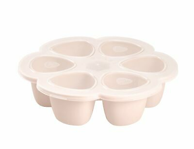 Beaba Silicone Multi portions 6 x 90 ml Servings - Pink | freeze and store food