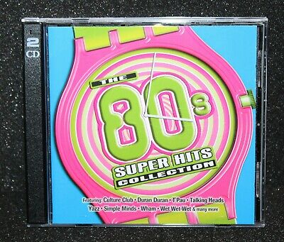 Time Life THE 80s SUPER HITS COLLECTION 2 CD Sounds Of Eighties Music Now