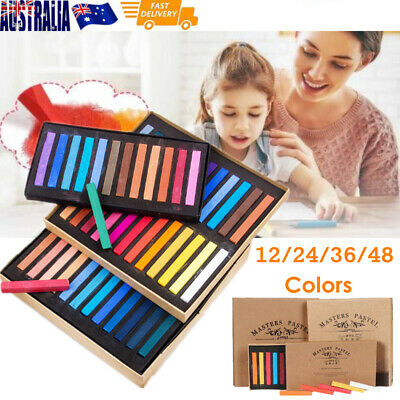 12/24/36/48 Colors Marie's Painting Crayons Soft Dry Pastel Chalks For Student