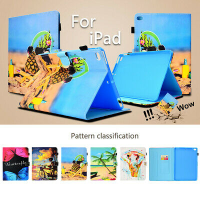 """PU Leather Smart Magnetic Stand Case Cover for iPad 10.2"""" 9.7 Pro 10.5 Mini Air"""