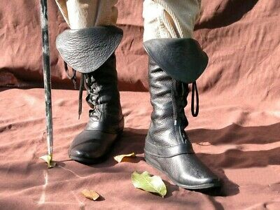 Robin Hood's Costumes Mens Medieval Fantasy Boots Cosplay Medieval Festivals