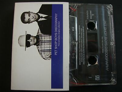 Pet Shop Boys - Discography - Cassette Tape    The Best Of