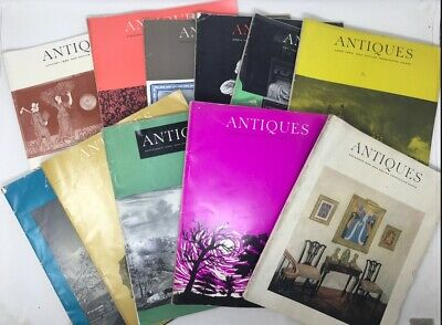 Antiques Vintage American Magazine 1965 11 Issues