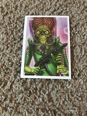 Mars Attacks P3 Exclusive Topps 2019 New York Comic Con Trading Card