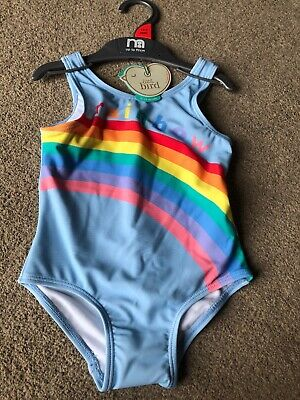 Little Bird By Jools Oliver Rainbow Swimming Costume 18-24 Months