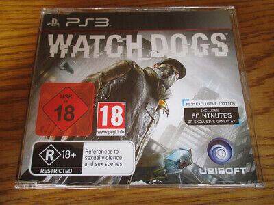 Watch Dogs / WatchDogs PROMO – PS3 ~ NEW (Full Promotional Game) PlayStation 3