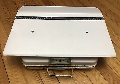 Health-O-Meter 386S Mechanical Scale-Baby-Pet-Merchandise-0 To 50 Lbs-Portable