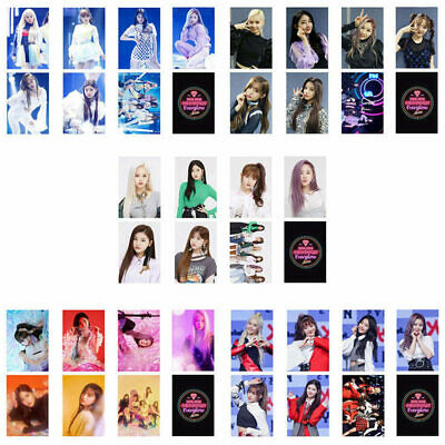 7PCS KPOP Everglow Photocards 2nd Album [HUSH] Double-sided Lomo Cards GwSSh
