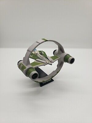Star Wars Hasbro Titanium Series Jedi Starfighter with Hyperdrive Ring - Green