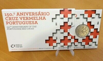 """2€ Conmemoratives Portugal 2015  """"Red Cross""""Proof."""